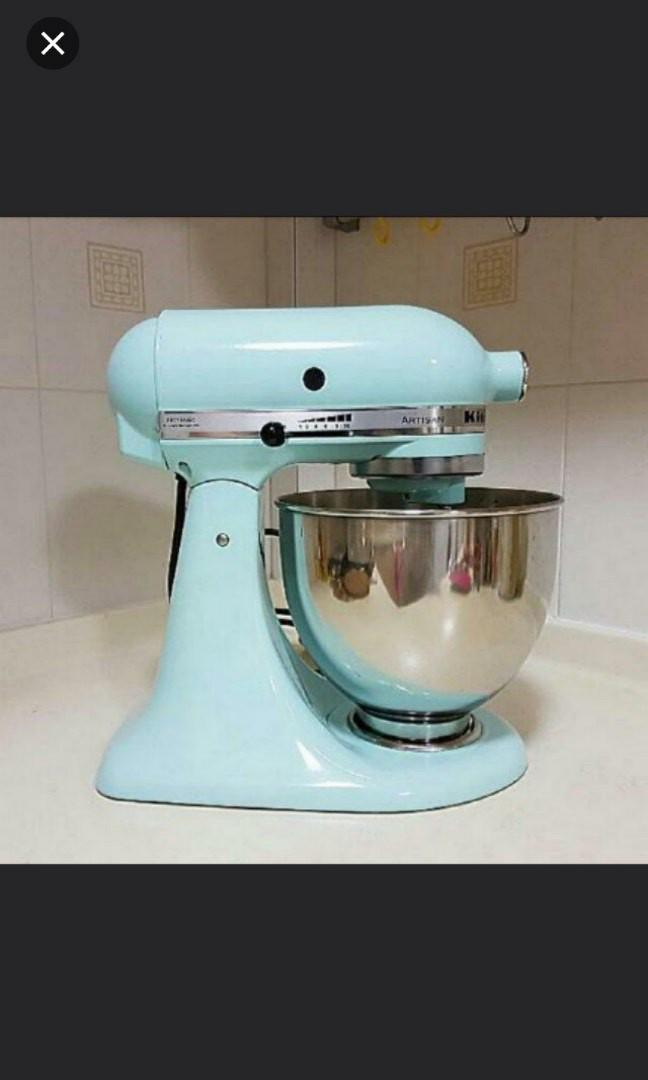 Kitchenaid Artisan Km 150 Mixer Tiffany Blue Nt Delonghi