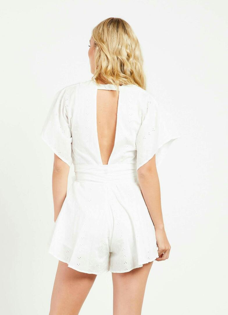 Lioness Warhol Romper - Anglaise