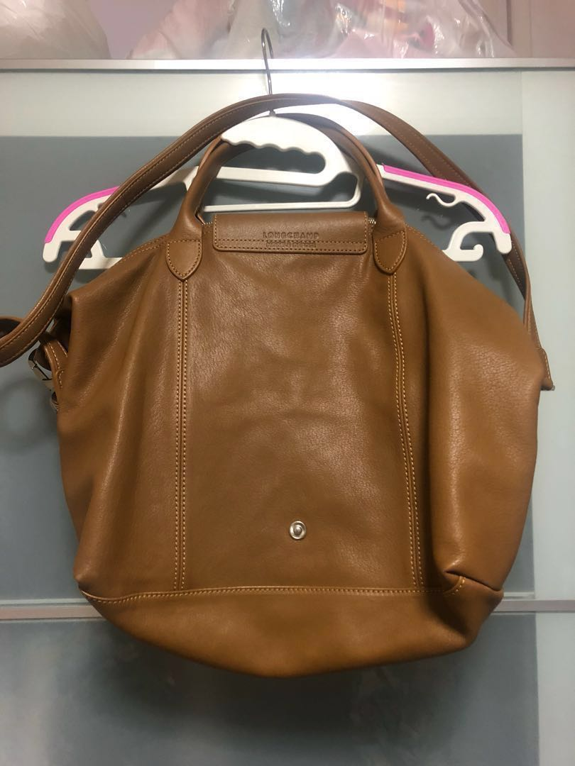 ee71d149f384 Longchamp Authentic Leather Brown bag