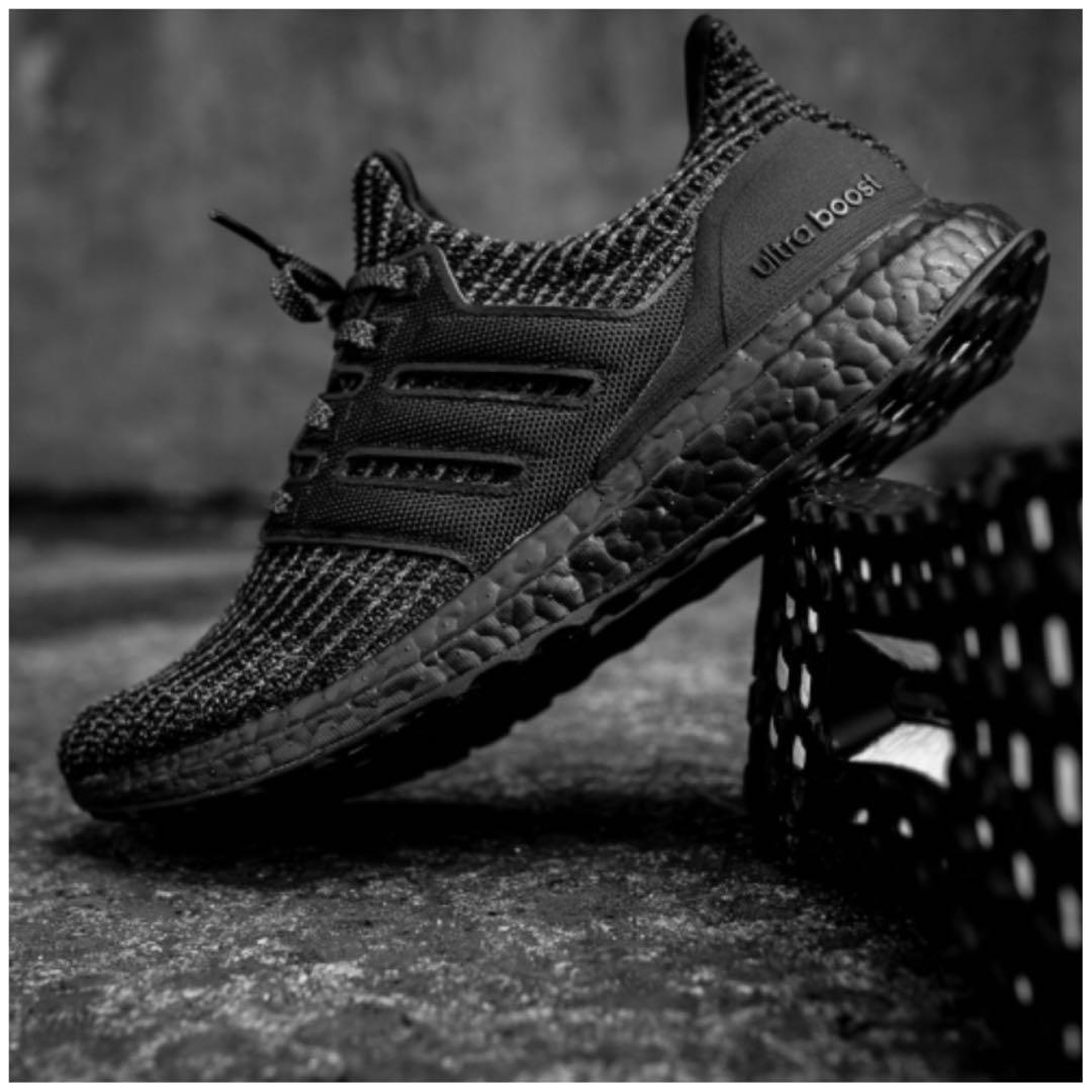 33d09c96adc46 Men s Adidas UltraBOOST 4.0 TRIPLE BLACK