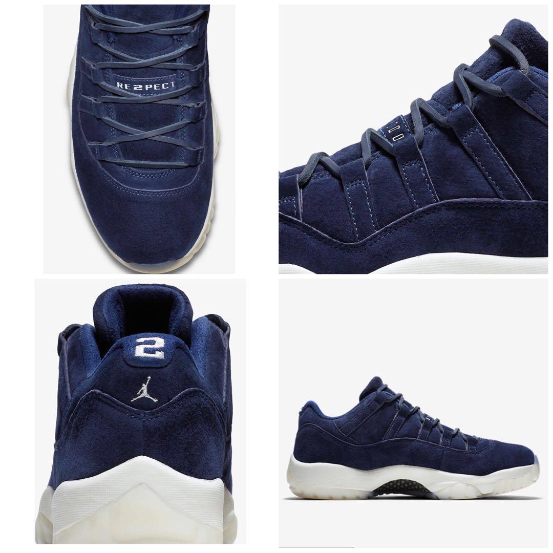 "f7560765752 Men's Air Jordan XI Retro Low Derek Jeter "" RE2PECT"", Men's Fashion,  Footwear, Sneakers on Carousell"