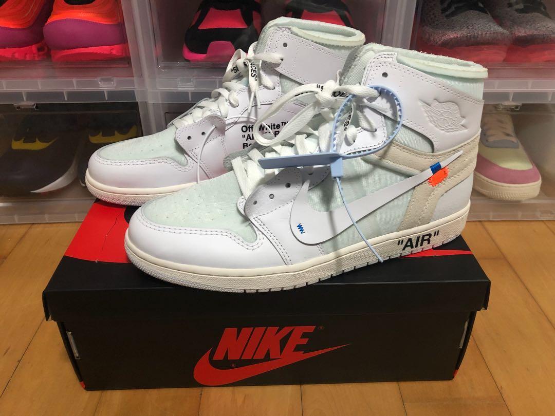 0b157d82955db1 Nike Off White Jordan 1 NRG Europe Exclusive US11