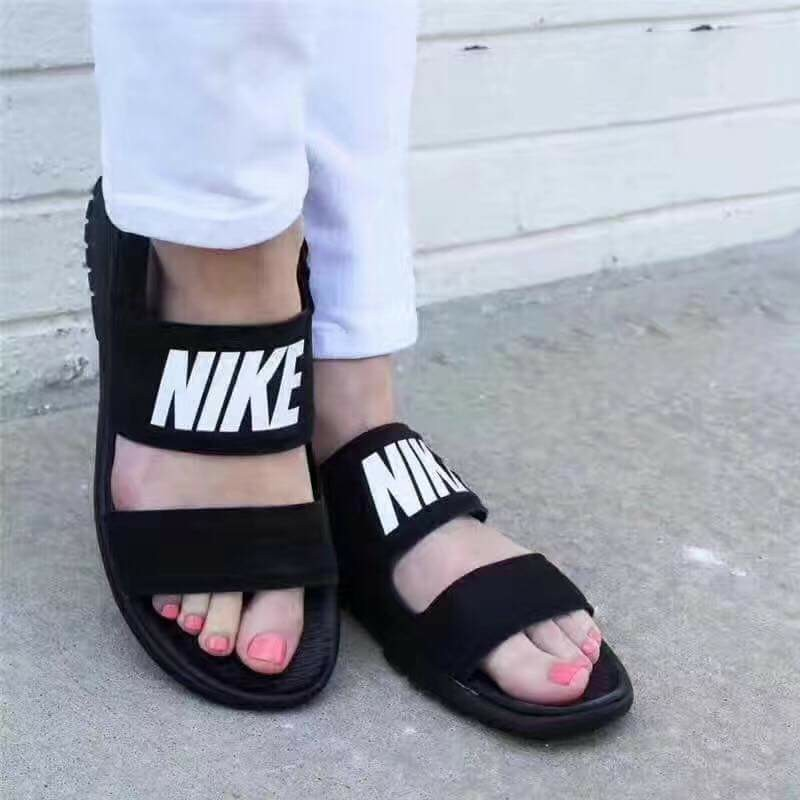 huge discount 14ecd 03523 Nike Tanjun Sandal, Women s Fashion, Shoes, Flats   Sandals on Carousell