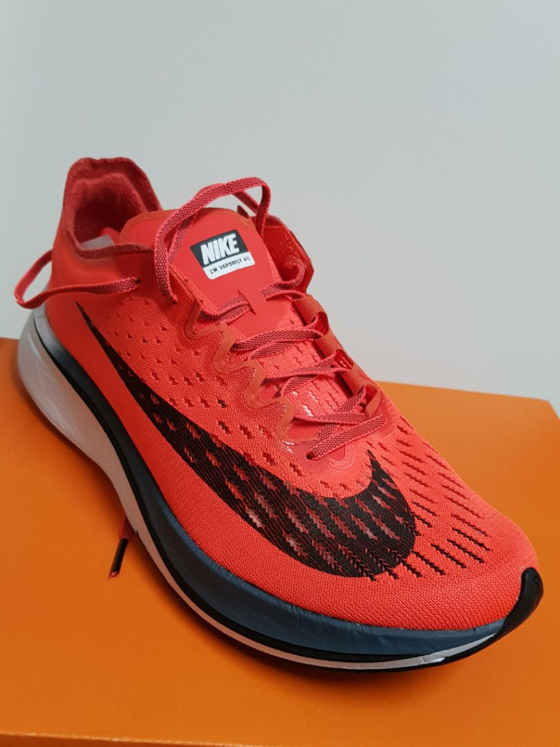 b64127ef01108 Nike vaporfly 4% crimson (discontinued) racers sneakers