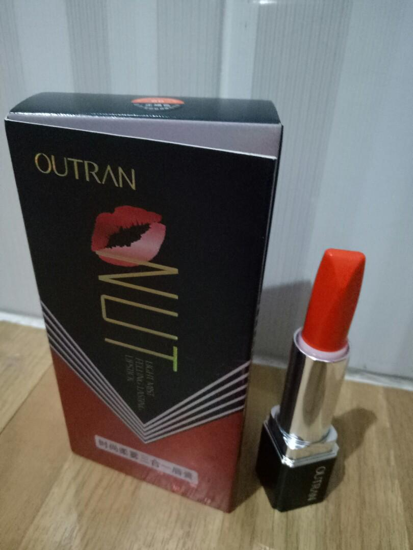 [New] Outran Red Oranye Lipstick