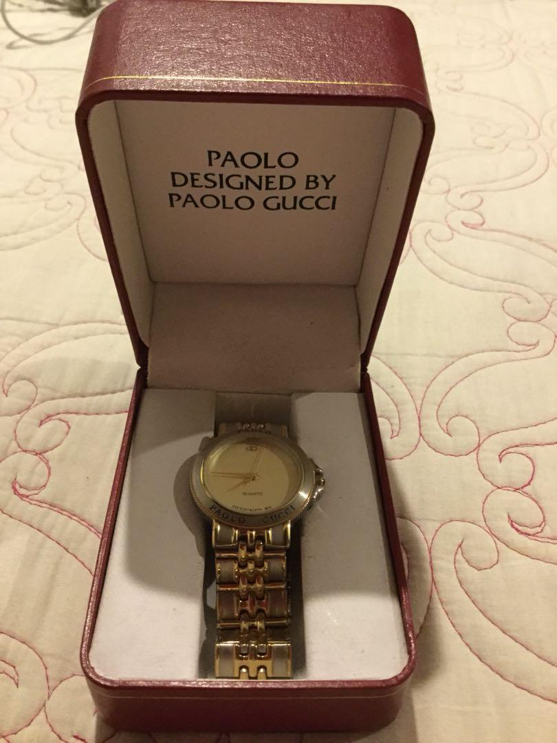 ff419e641a5 Paolo GUCCI watch