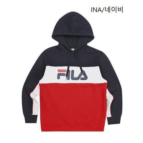 6471c33c0118 (PO) Authentic Fila Tri Colour Hoodie, Men's Fashion, Clothes, Tops on  Carousell