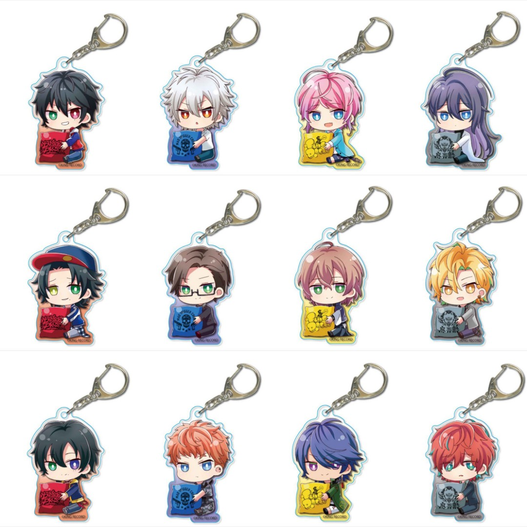 [PO closed] Hypnosis mic - Gyugyutto Acrylic Keychain