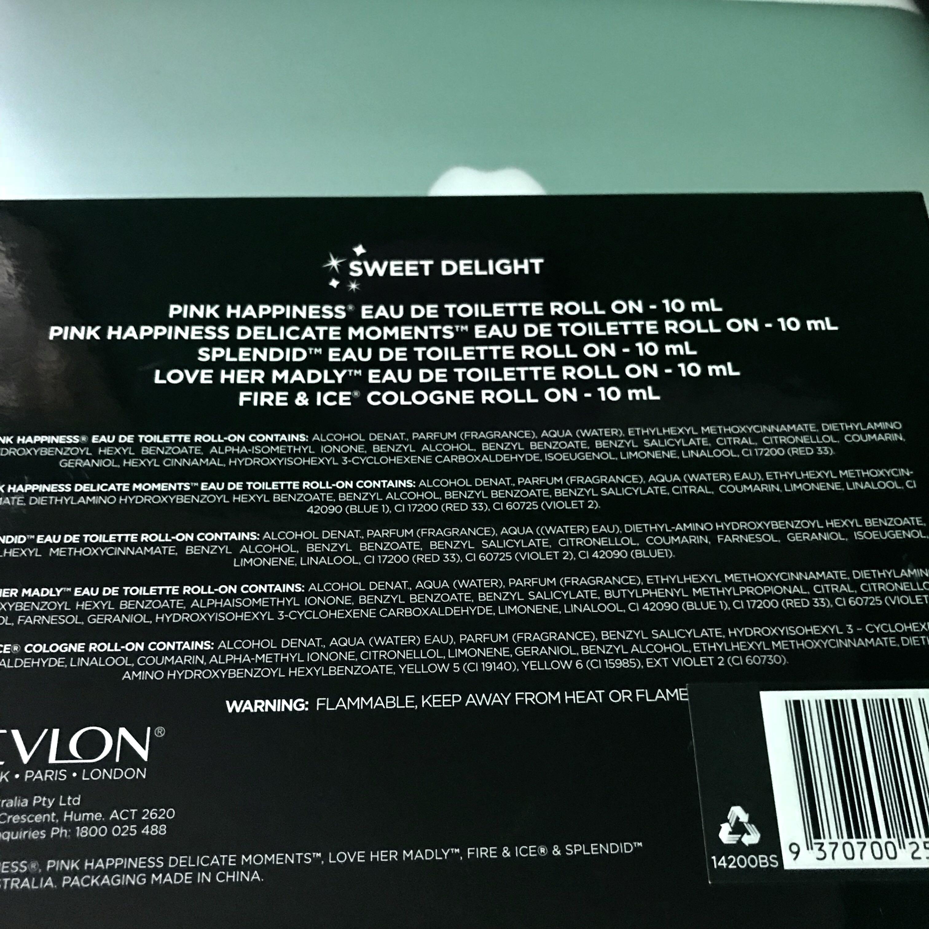 Revlon Roll On Perfume Set