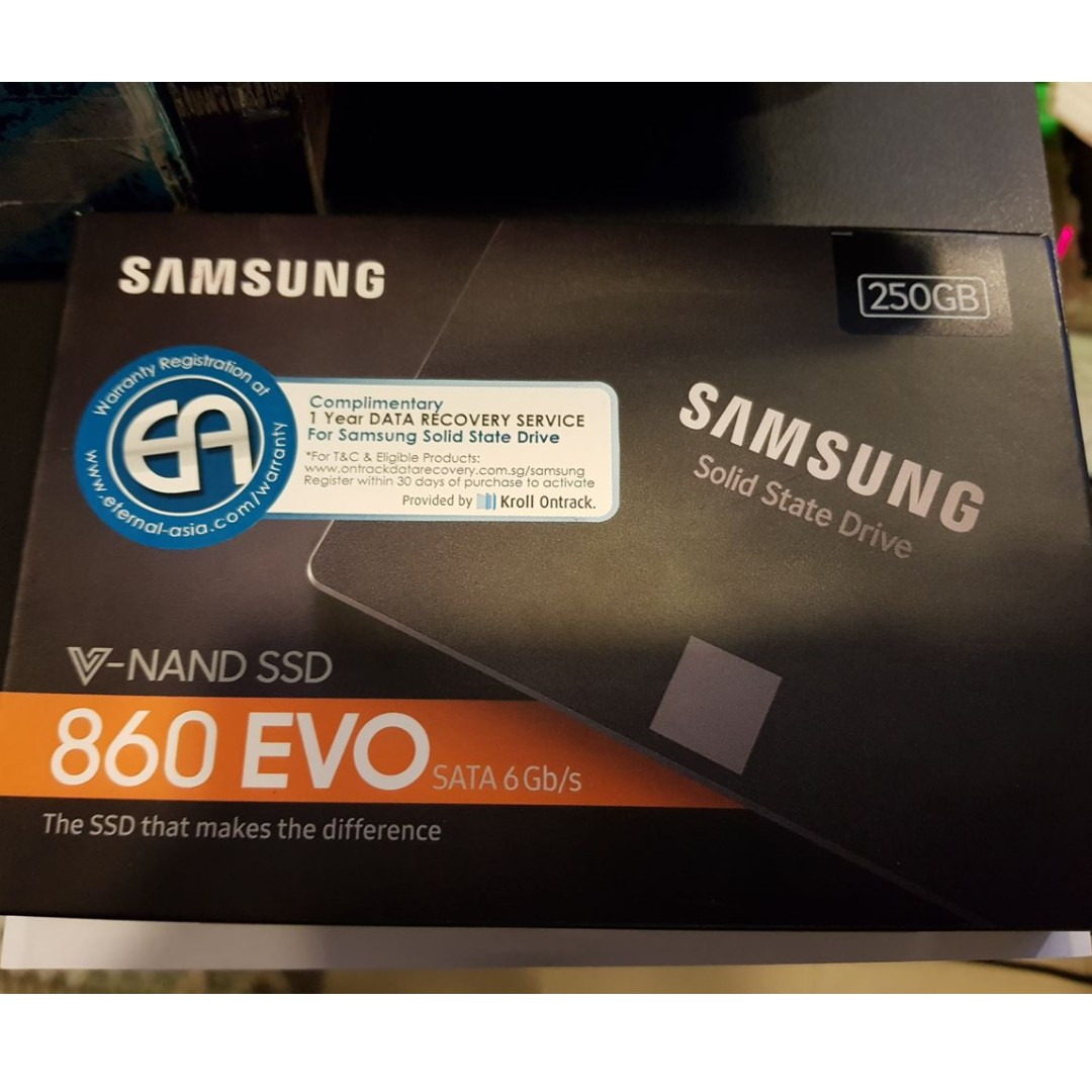 Samsung 860 Evo 25 250gb Ssd Electronics Others On Carousell Inch Sata Iii Photo