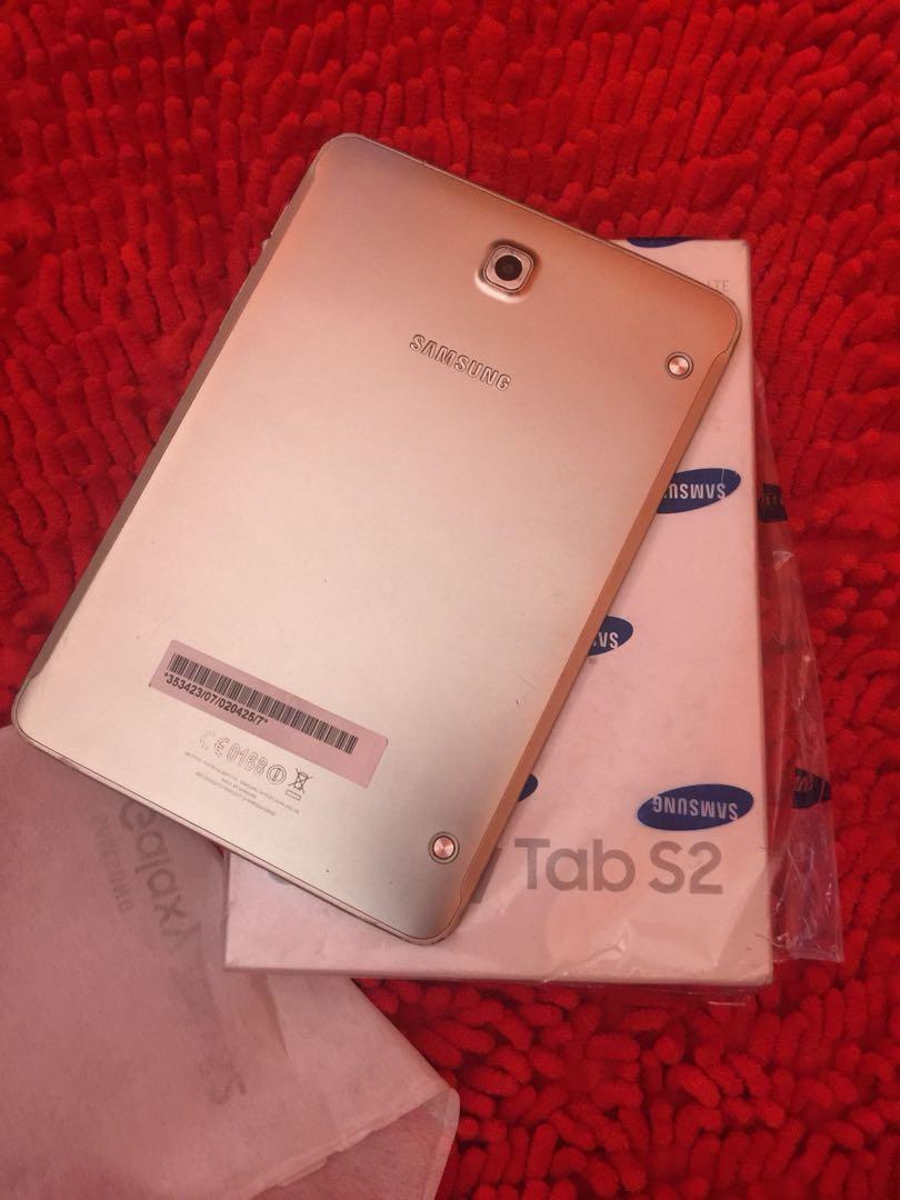Samsung Galaxy Tab S2 80 Full Set Elektronik Telepon Seluler Di Garansi Resmi Photo
