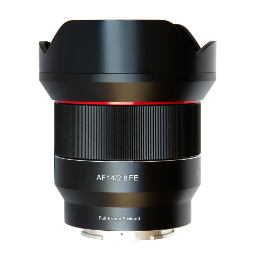 Samyang AF 14mm f/2.8 FE Lens for Sony Full Frame E mount Camera ...