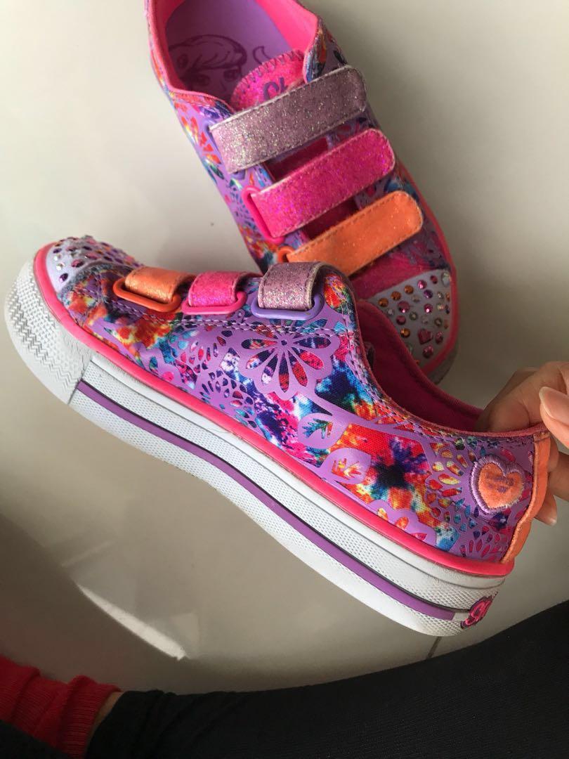 acc42f6cc08 Sketchers Shoes Girls
