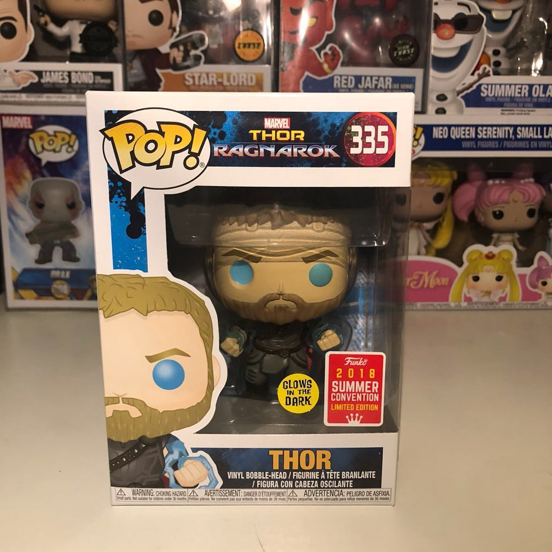 Thor Ragnarok Thor Odin Force Gitd 2018 Summer Covention Toys