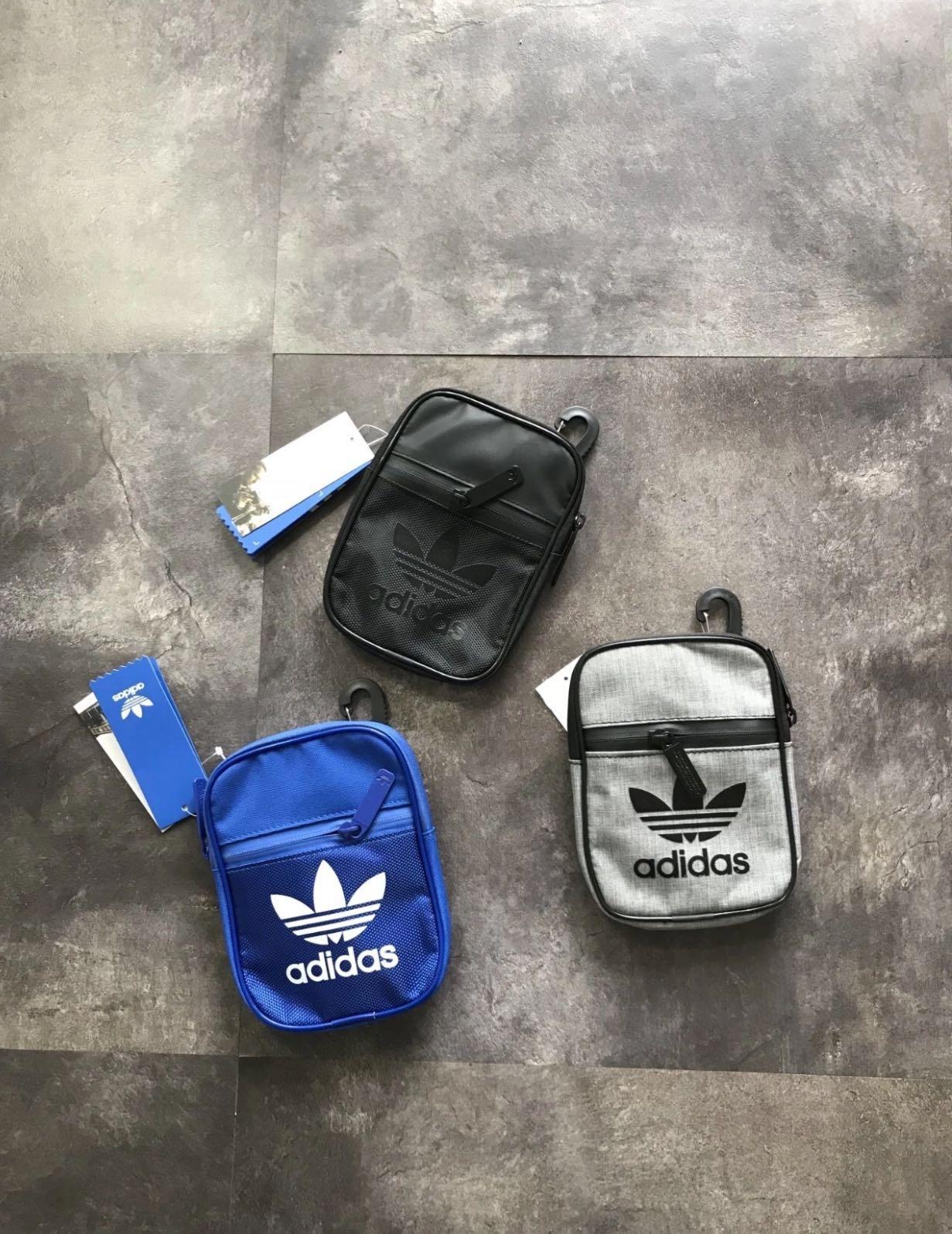 f97c63228d Triple Black Adidas Mini Sling Bag (Brand new and instocks)