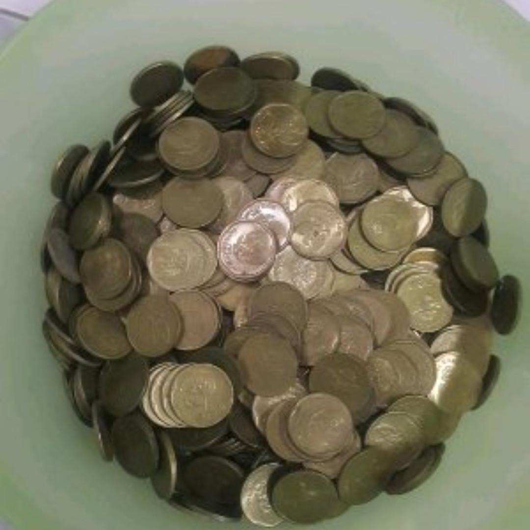 Gambar Uang Koin 500 Rupiah Uang Koin 500 Rupiah Gambar Melati Kecil Antik Lainnya Di Carousell