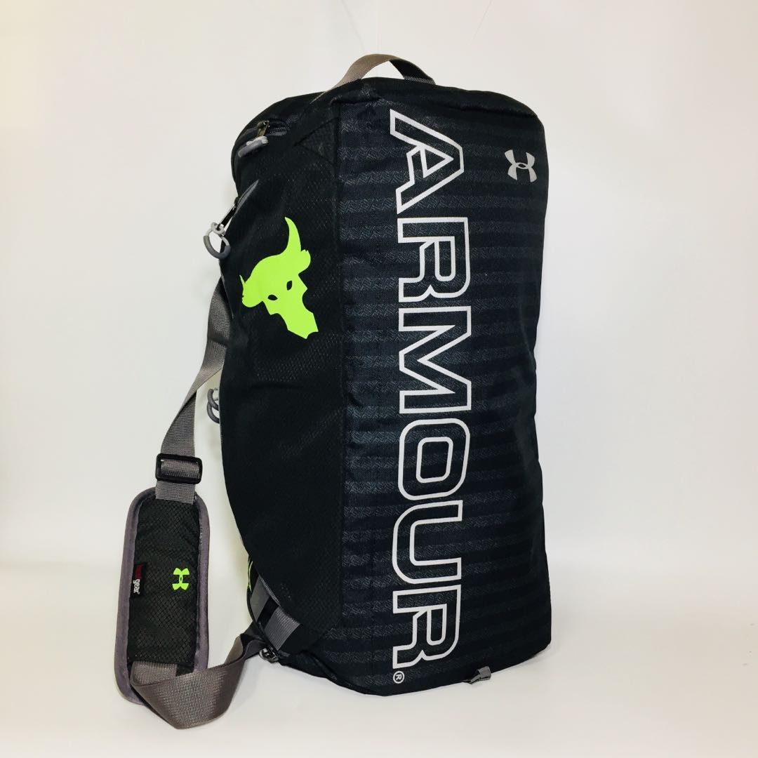 0ca159bfca3 ... Under Armour Storm Contain Duffel Duffle Backpack, Sports, Sports  Apparel on Carousell best service ...