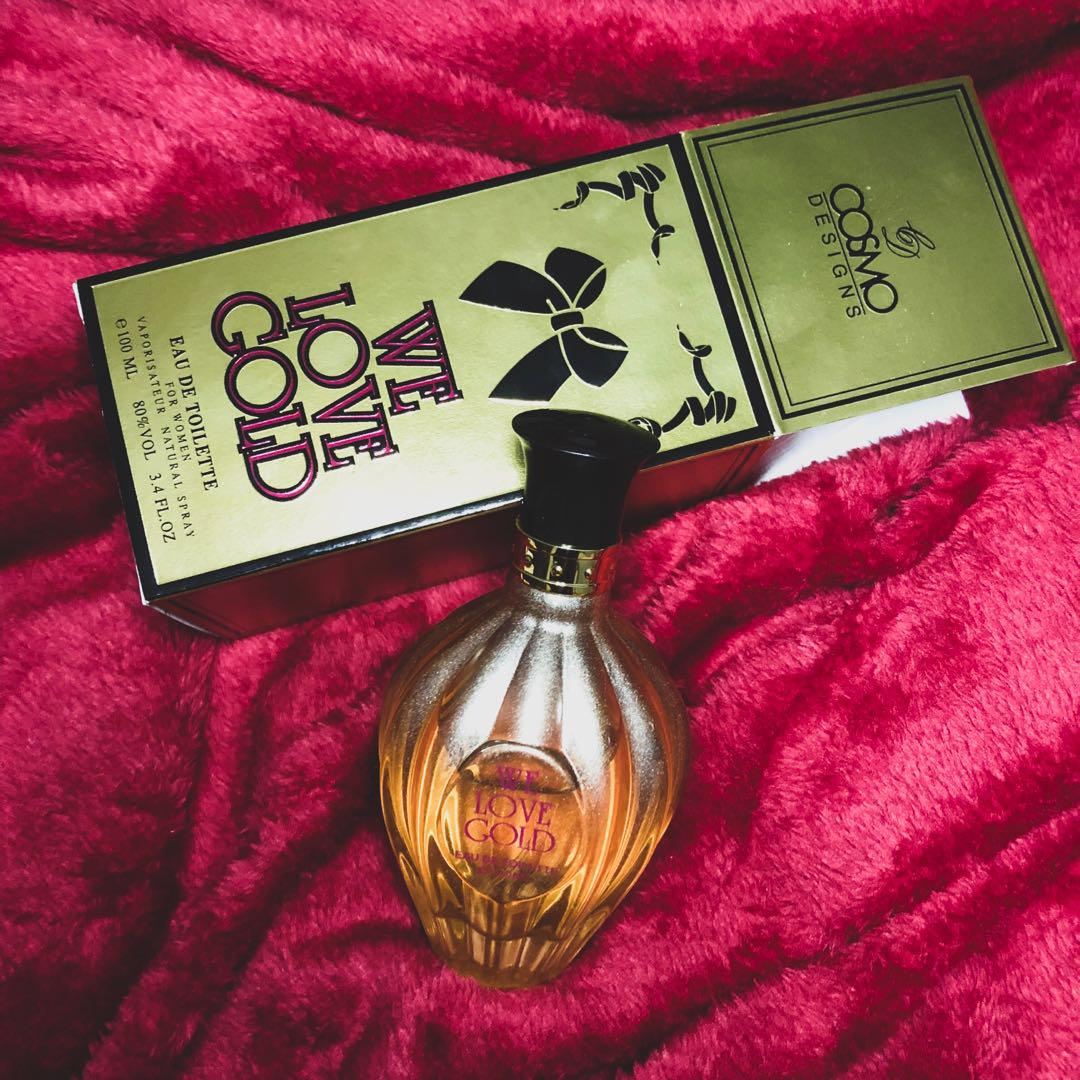 We Love Gold Perfume On Carousell