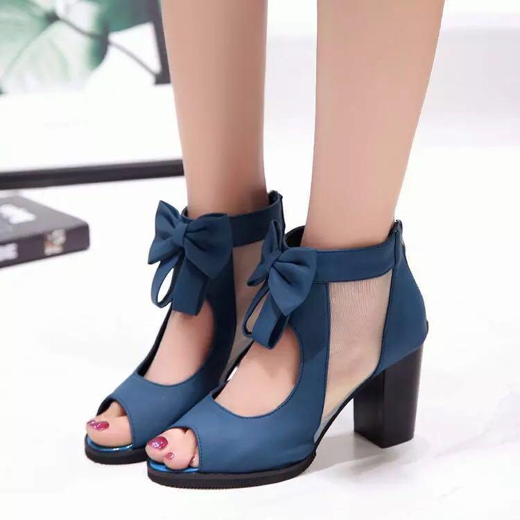 Women High Heels sandals open toe shoe