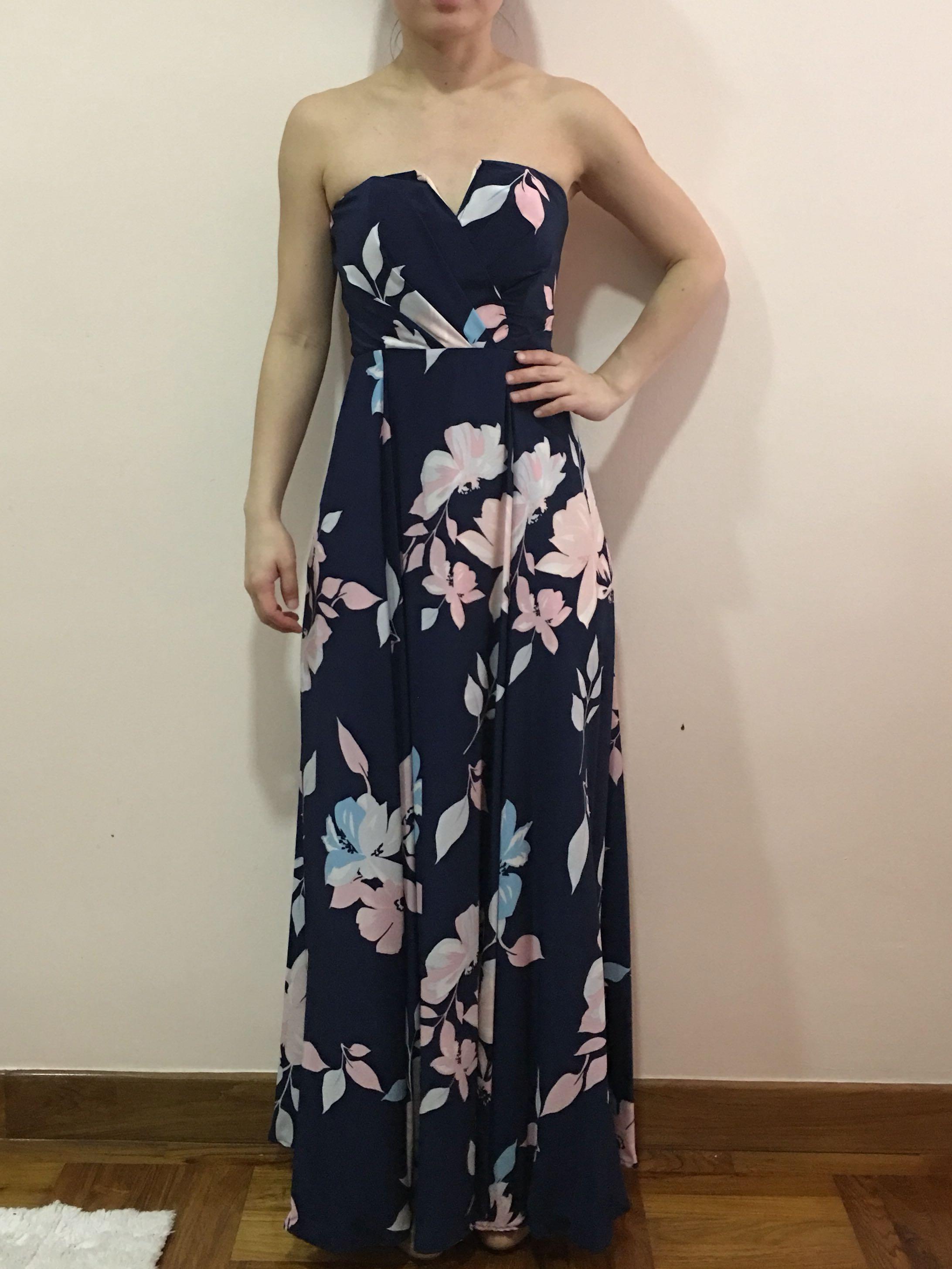 6a4a6159b74e Yumi Kim Mischief Silk Maxi Dress, Women's Fashion, Clothes, Dresses &  Skirts on Carousell