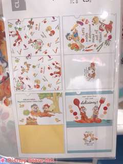 1 SET OF CHIP AND DALE FILES