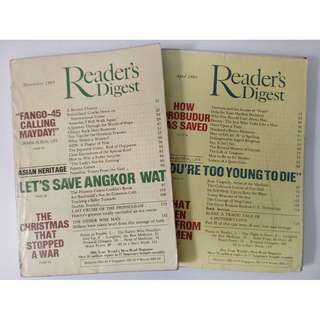 READERS' DIGEST (2 COPIES)