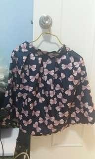 $20韓國蝴蝶結半身裙