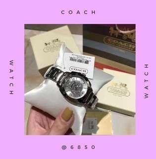 Coach watch