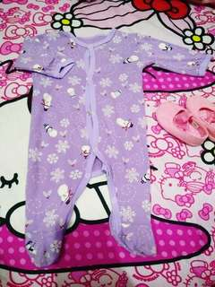 Sleepsuit 0-6bulan tergantung badan baby