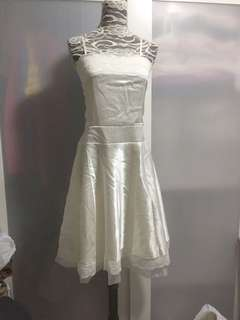 Creamy dress ( no bargaining)