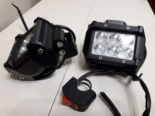 Motorcyle sport light (6 led)