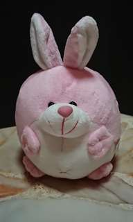 Rabbit Plush Coin Bank