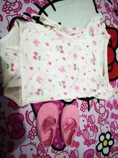 Jumper kimono import 0-6bulan tergantung badan baby