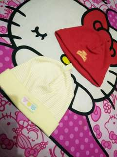 Topi baby newborn aurella bagus yah lembut bahanya