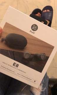 全新B&O E8 藍芽耳機