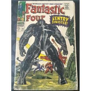 Fantastic Four #64 (1st app: Daniel Damian/Unnamed)