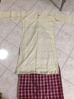 Baju Kurung Cotton Saree