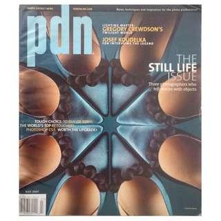 PDN MAGAZINE - THE STILL LIFE ISSUE JULY 2007