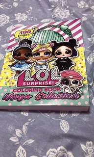 Lol colouring book