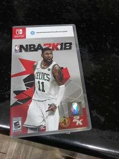 NS NBA 2K18