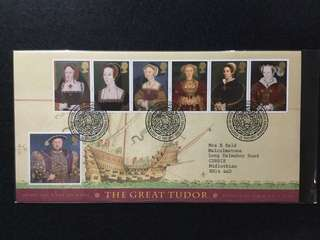 1997 Great Britain The Great Tudor King Henry 8 & The Six Wives First Day Cover
