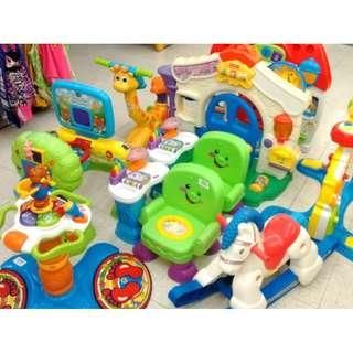 (42A) Vtech/Fisher Price toys