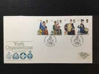 1982 Great Britain Youth Organisations First Day Cover