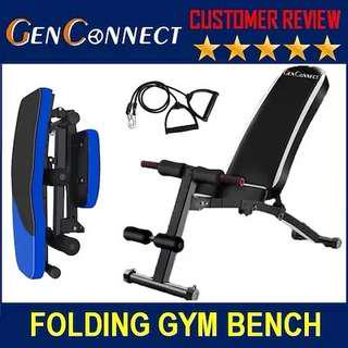 Workout Bench. Foldable , Traditional Sturdy Gym Bench!