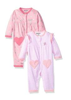 🚚 *6M* Brand New DKNY Coveralls For Baby Girl