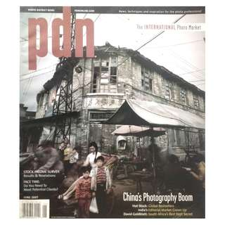 PDN MAGAZINE JUNE 2007