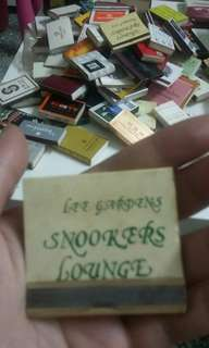 Lee Gardens snookers lounge matches