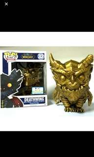 Deathwing - Funko POP - Gold - LIMITED EDITION