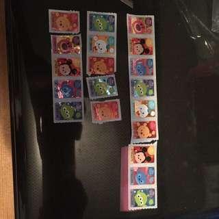 7-11 stamps 印花 seven eleven x19 pcs