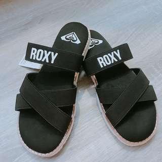Roxy 繃帶拖鞋